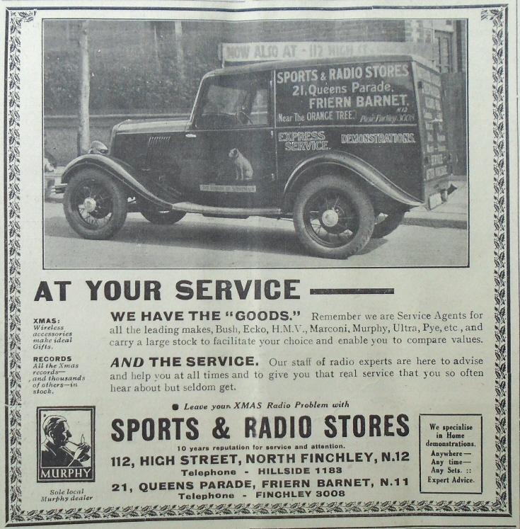 Sports & Radio Stores