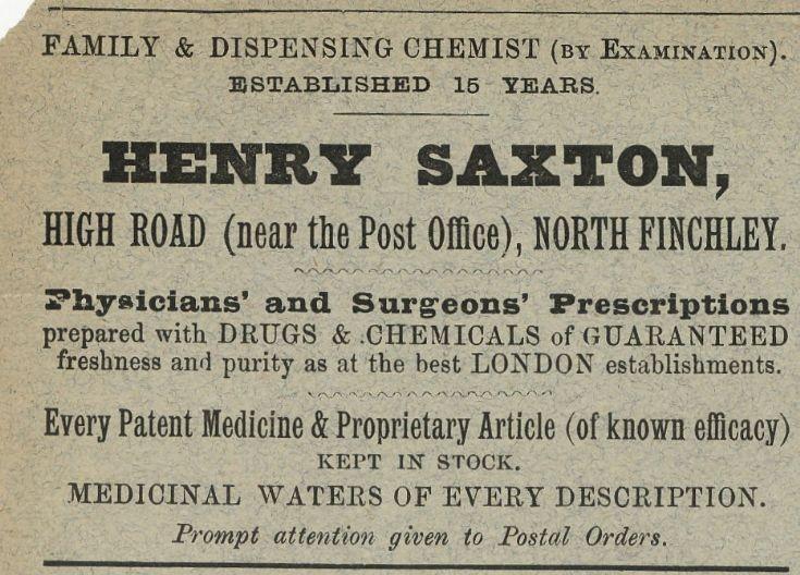 Henry Saxton