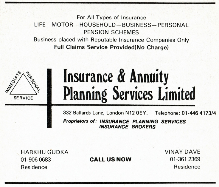 Insurance & Annuity Planning Services
