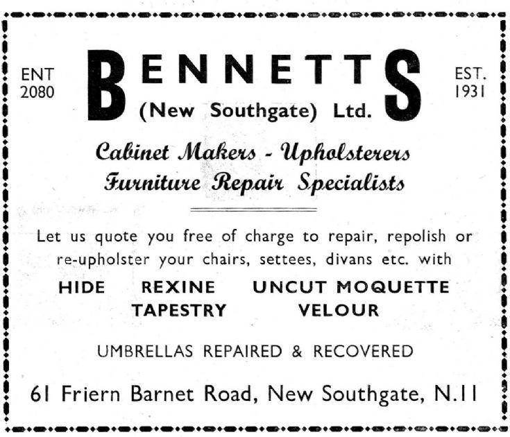 Bennetts Upholsterers